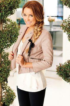 I like her jacket