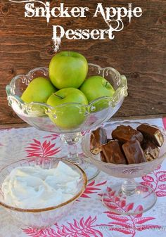 The debate continues...is this delicious dish a salad OR a dessert? You decide! Nevertheless, it so yummy! www.bddesignblog.com #apples #snickers #salad