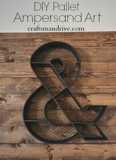 DIY Wood Pallet Wall Art