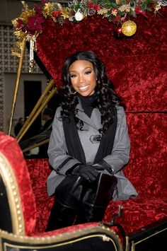 Brandy attends the Philadelphia Thanksgiving Day Parade