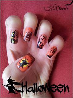 Halloween part 3 by irdimova from Nail Art Gallery