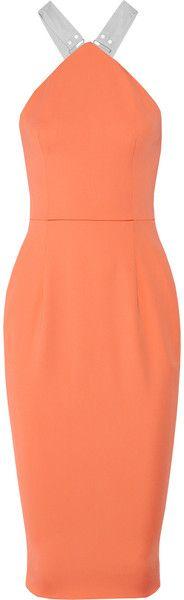 Victoria Beckham London Stretchcrepe Dress