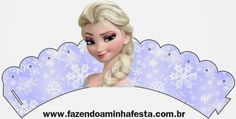 Frozen Free Printable Cupcake Toppers and Wrappers. cupcake wrappers, cupcak wrapper, frozen cupcakes wrappers, printabl cupcak, cupcake toppers