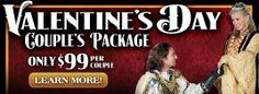 Valentine's Day special at Medieval Times in Atlanta, #Georgia.