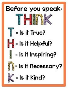 THINK Poster: Freebie