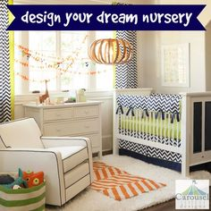 Carousel Designs bed