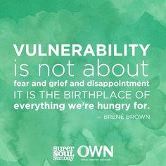 Tuesday Talks, Brene Brown vulnerability