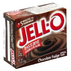 Jell-O Instant Chocolate Pudding. So simple. So perfect.