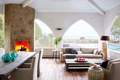7 DREAM Celebrity Vacation Homes // John Mellencamp, South Carolina, island home, beach house