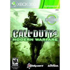 Call of Duty: Modern Warfare - Platinum Hits (Xbox 360) $30