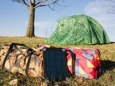Bang Bang Tents: A Solar Powered Tent