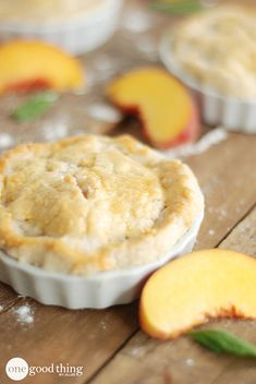 Mini pies are adorable--and tasty! Check out this super easy recipe :-)