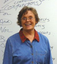 Candy Hamilton, poet and short story author.