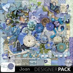 Joan Page Kit  #pattybscraps #mymemories #digitalscrapbooking