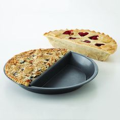 Cook two different pies at the same time to satisy everyone.  Super cool!