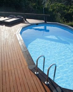 Piscinas desmontables above ground pools on pinterest for Piscines demontables