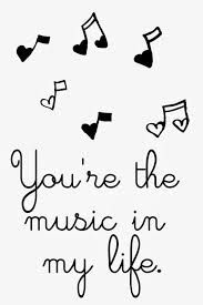 valentine printables - your the music in my life