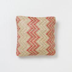 Chevron Outdoor Pillow   Terrain