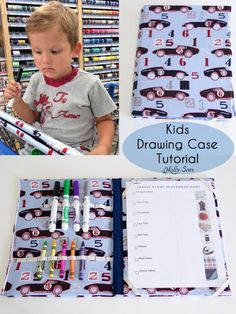 Kids Drawing Case Tutorial - Melly Sews