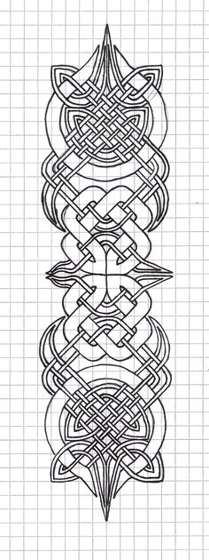 kind of complicated but very cool! tattoo ideas, celtic knot designs, celtic designs, celtic knots, art, celtic zentangle, celtic knot drawing, celtic drawings, celtic embroidery patterns