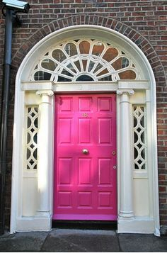 The Pink Pagoda: Pink at the Door