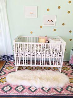 Ruby's Whimsical Semi-Parisian Nursery - Project Nursery