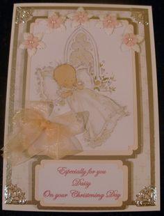 C5 Christening Card