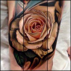 natural skin, tattoo idea, nikko hurtado, color tattoos, tattoo artists, rose tattoos, roses, a tattoo, ink