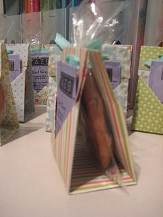 I love this idea for favors at a party!