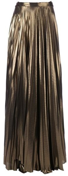 Gold Maxi Skirt. Great for all seasons