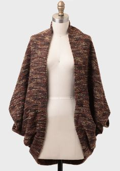 This #sweater coat looks SOOO cozy #cocoon #coat