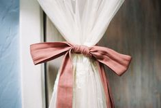 tie it with a bow - curtains