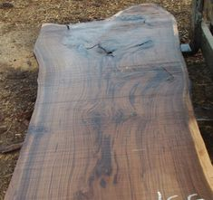Table Wood Slabs On Pinterest
