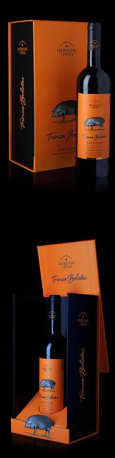 Trinca Bolotas wine packaging by Rita Rivotti