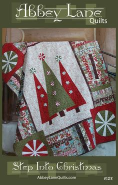 Step into Christmas - quilt pattern book
