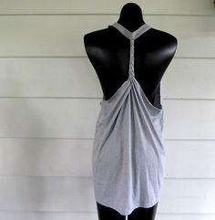 DIY Braided Razorback Shirt