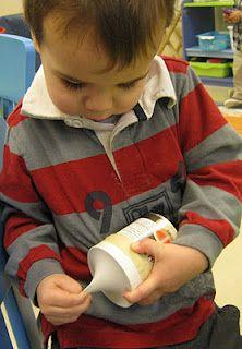 We made finger drums!