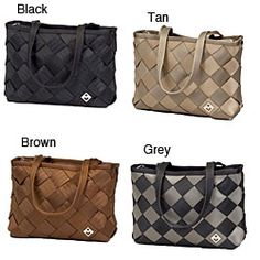 Maggie Bags Recycled Seatbelt Large Tote Bag, $80.99  #MaggieBags