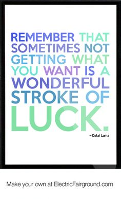 Dalai Lama Framed Quote