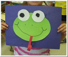 spring crafts for kindergarten, art crafts, spring art for preschool, frog crafts, kid