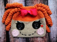 SUE, LOOK HOW CUTE!!!!    Misty Mysterious LaLaLoopsy Hat!