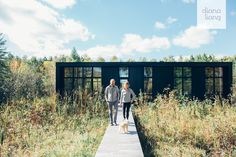 Hygge Supply founder Kelly Sean Karcher builds a sustainable kit home in Michigan's Lake Leelanau community. #dwell #kithomes #prefabhomes #greenhomedesign
