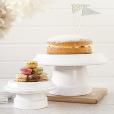 Doing this soon!! - Make your own cake stands from terracotta pots!