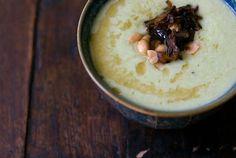 Edamame Soup Recipe...uses defrosted frozen edamame...