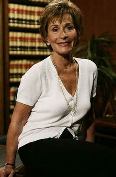 Judge Judy, 73 years old. Still working, still beautiful, still sassy.