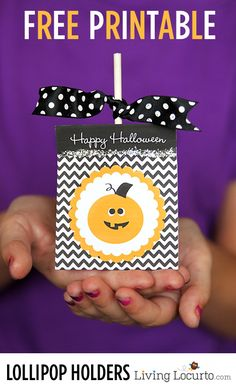 Halloween season is here and I'm excited to show you my newest Free Party Printable designs! I had so much fun creating cute lolliop holders that are perfect for a Halloween party treat or simple gift idea. What's even more exciting is that I collaborated with my graphic designer friends and we are bringing you…