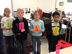 Fraction Activities...Mrs. White's 5th Grade Class