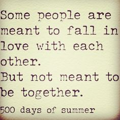 That's one of the harshest realities of a love life. We can dream and dream, but we'll always wake up. That dream may not be within reach but it does reflect on what's inside of us somehow. Sacrifice at best. Film, Happy Summer Quotes, 500 Days Of Summer Quotes, Quotes On Being Happy