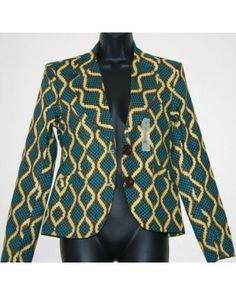 Flourish African Print blazer FAPB001