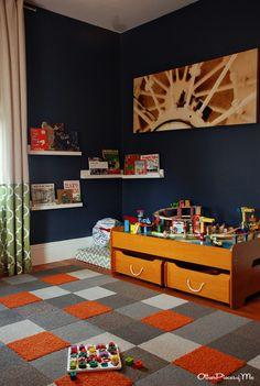 Boy Toddler Room